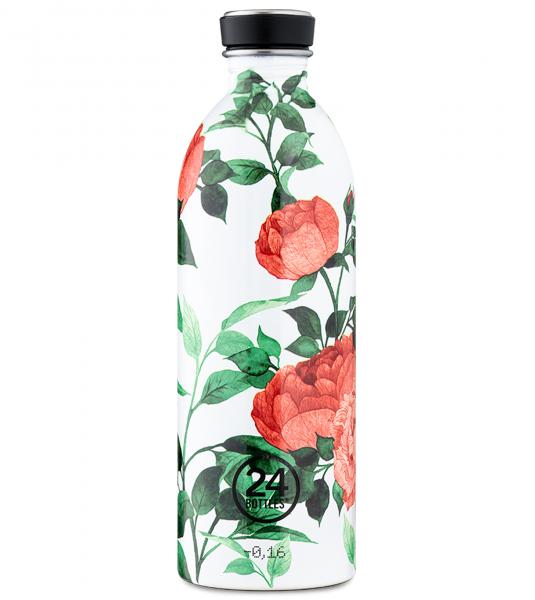 Trinkflaschen aus Edelstahl 1 Liter - Urban, verschiedene Muster und Farben