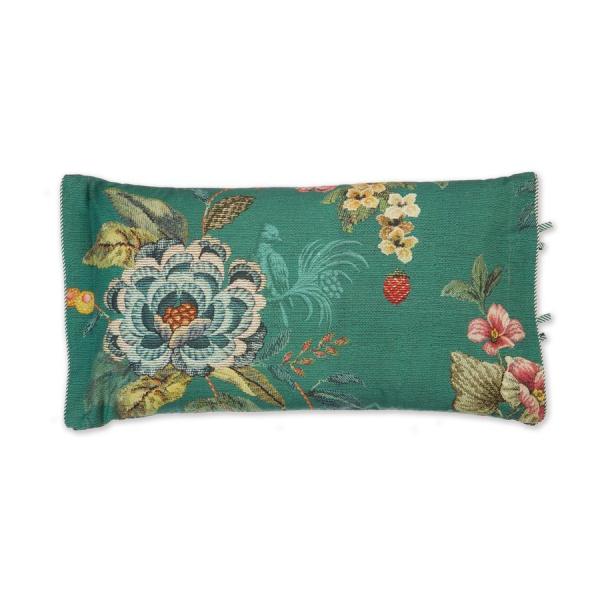 Kissen gefüllt, Muster Poppy Stitch, Größe 35x60 cm, verschiedene Farben