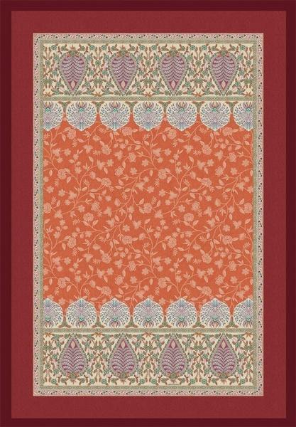 Plaid Barisano, Farbe O1 orange, verschiedene Größen, Kollektion H/W 2020