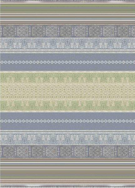 Jacquard Plaid Italiana In Algeri , verschiedene Farben, Größe 140x190 cm, 100% Baumwolle