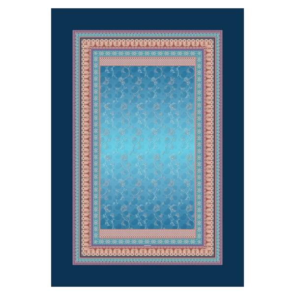 Plaid Otello B1 Blau, Größe 135x190 cm