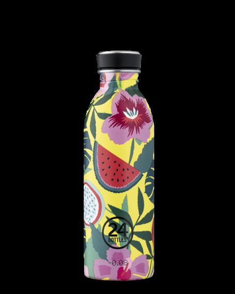 Trinkflasche/ Urban Bottle Edelstahl, 0,5 l Fassungsvermögen, verschiedene Muster und Farben