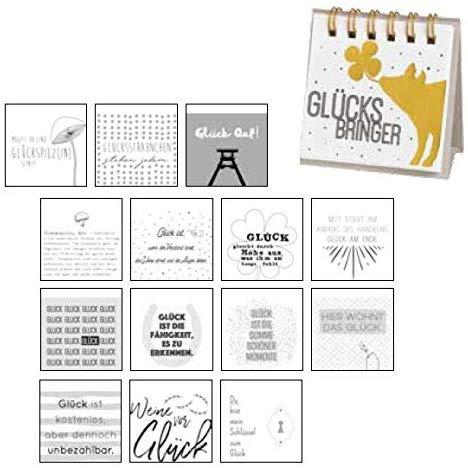 Tischaufsteller Kleine Botschaften, , verschiedene Motive/ Anlässe, Größe 6,5x6,5 cm