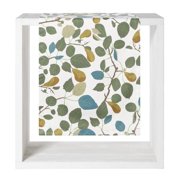 Tischläufer Pera, Druck herstliche Blätter, Größe 50x140 cm
