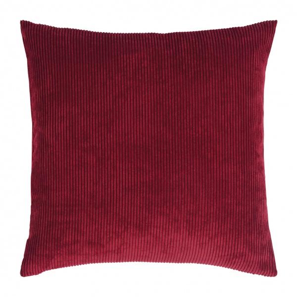 Casual Kissenhülle, Cord-Optik, Größe 40x40 cm, verschiedene Farben