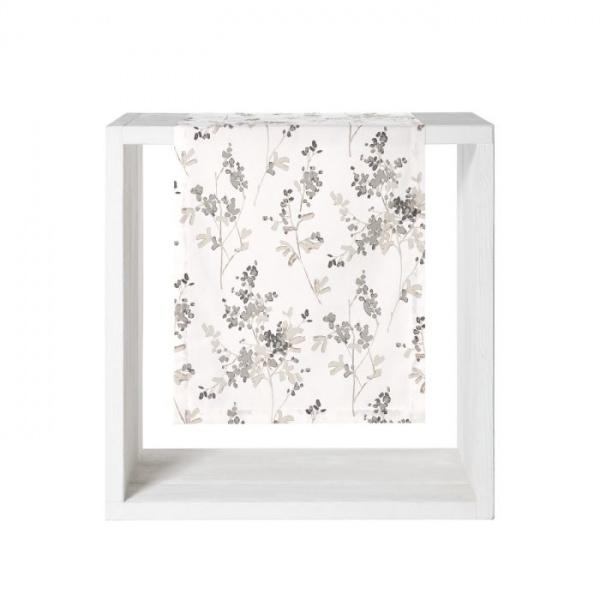 Tischläufer Lian, Größe 50 x 140 cm, Farbe grey