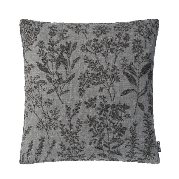 Kissenhülle Brina , Größe 50x50 cm, gewebtes florales Muster, verschiedene Farben