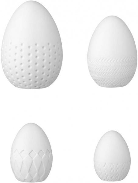 Ostern - Frühlingsboten Keramikeier 4-er Set