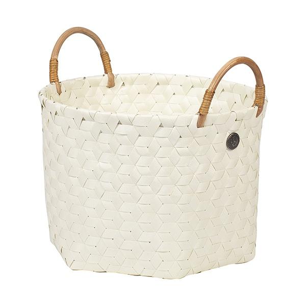 Korb Dimensional Basket mit Bambusgriff, Größe S, verschied. Farben