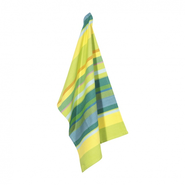 Geschirttuch 2er-Pack, Muster Smile multi green, Größe 50x70cm