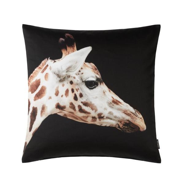 Kissenhülle Sid, Digitaöl-Fotodruck Giraffe, Größe 50x50 cm