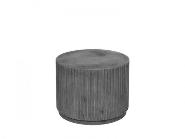 Bestelltisch Podie Rillo, Material Faserzement, Größe:Ø56XH42CM, verschiedene Farben