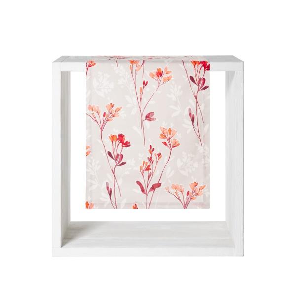 Tischläufer Vispa 50 x 140 cm, herbstliche Blüten und Gräser