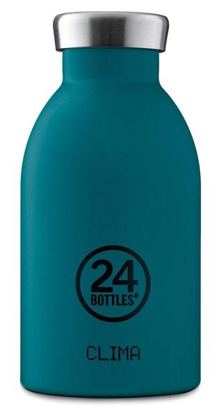 Thermosflasche Clima aus Edelstahl 330 ml, verschiedene Muster und Farben