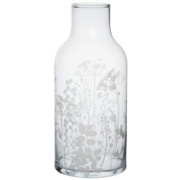 Glasvase Wiesenblumen