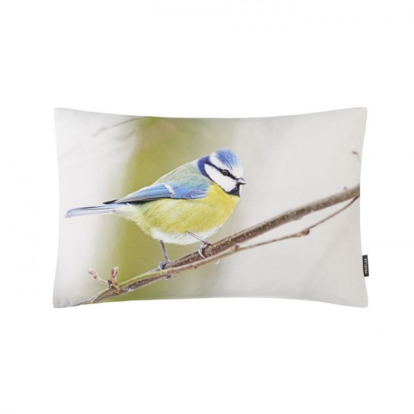 Kissenhülle Piper, Digital-Fotodruck Vogel, Größe 30x50 cm, 100% Baumwolle
