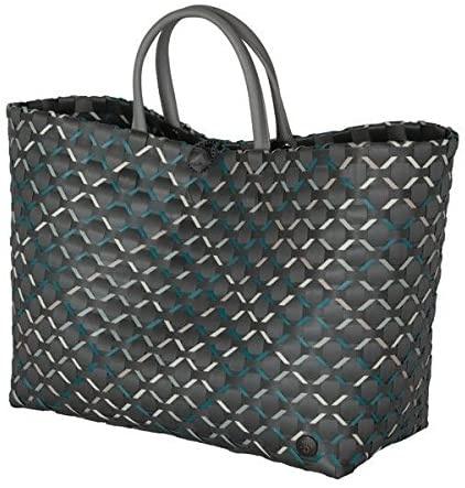 Shopper Glamour, Einkaufskorb mit Griff, verschiedene Farben, Größe 32x38x20 cm