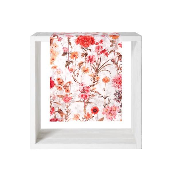 Tischwäsche Ventana - herbstlicher Blumendruck