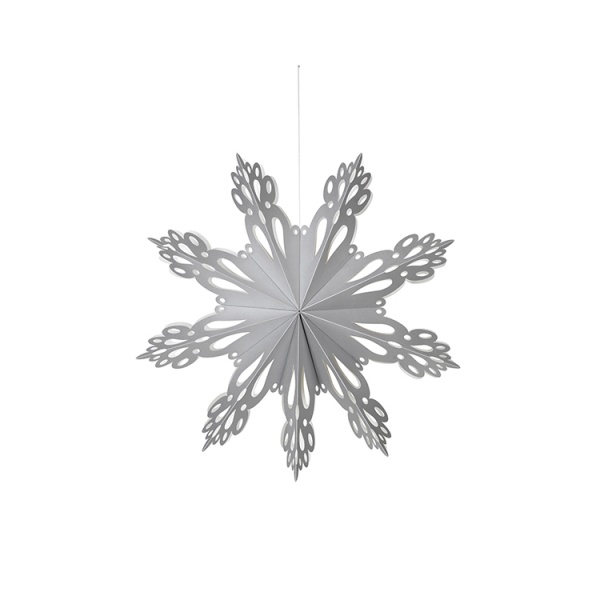 Christmas Mix Paper Snowflakes, 15 cm