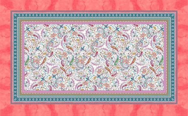 Tischdecke Muster Burano, Größe 150x250 cm, Verschiedene Farben