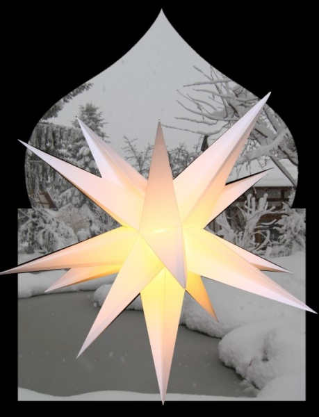 Adventstern Outdoor 55cm