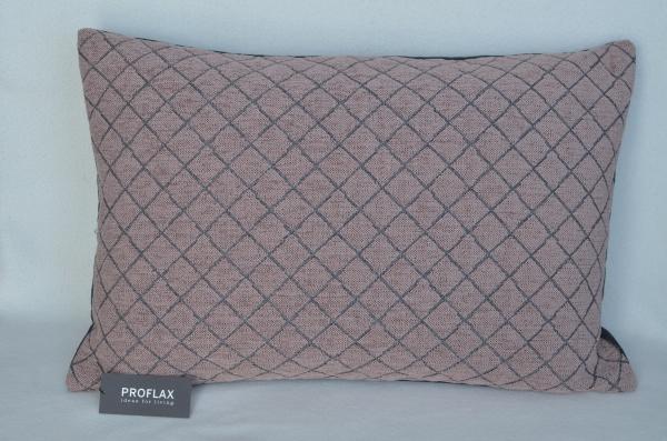 Kissenhülle Step, Größe 40x60 cm, Rautenmuster, verschiedene Farben