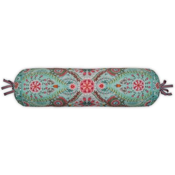 Nackenrolle gefüllt, Muster Sultans Carpet, Größe 22 x 70 cm, verschiedene Farben