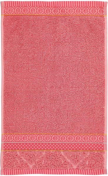 Frottierserie Soft Zellige, verschiedene Artikel und Farben , 100% Baumwolle, uni gestreift