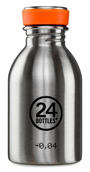 Trinkflaschen aus Edelstahl 0,25 Liter - Urban, verschiedene Farben, ideale Kindertrinkflasche