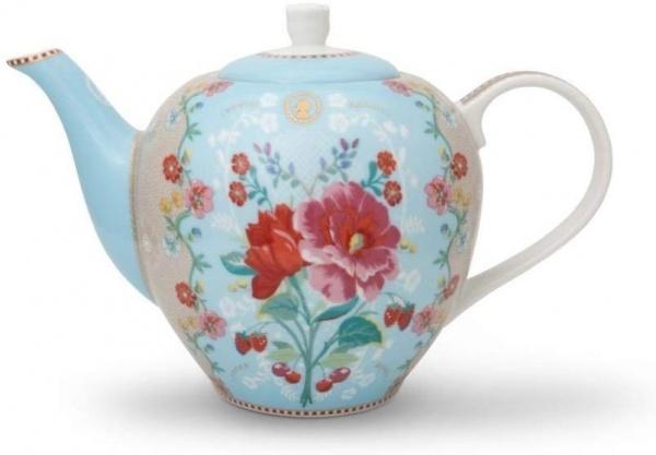 Teekanne Rose blue, 1600ml
