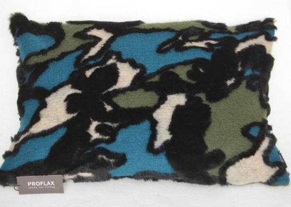 Kissenhülle Yolanda, Farbe Petrol, Grö0e 40x60 cm