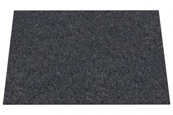Filzuntersetzer eckig 45 x 33 cm, Tischset Wollfiz, waschbar, verschiedene Farben