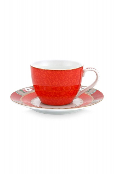Serie Blushing Birds red - tablewear collection PIP