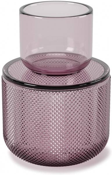 Allira Oranizer/ Aufbewahrungsbehälter, Glas, Verschiedene Farben und Größen