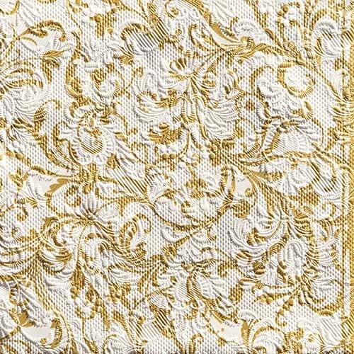 Serviette Elegance 33x33 cm - verschiedene Muster -
