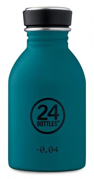 Trinkflasche/ Urban Bottle Edelstahl 0,25 Liter, verschiedene Farbe und Motive, ideale Kinderflasche