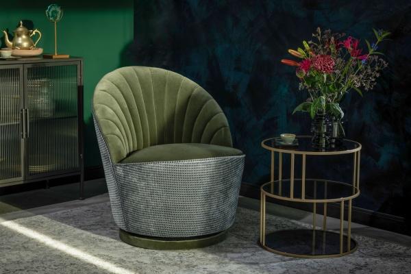 Lounge Chair Madison, Drehsessel, verschiedene Farben, Größe B 82 x H 79 x T 88 cm