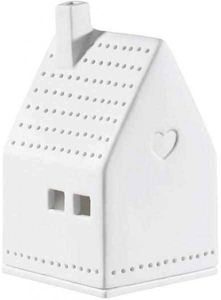Porzellanlichthaus Herz, Größe ca 7x7x10 cm