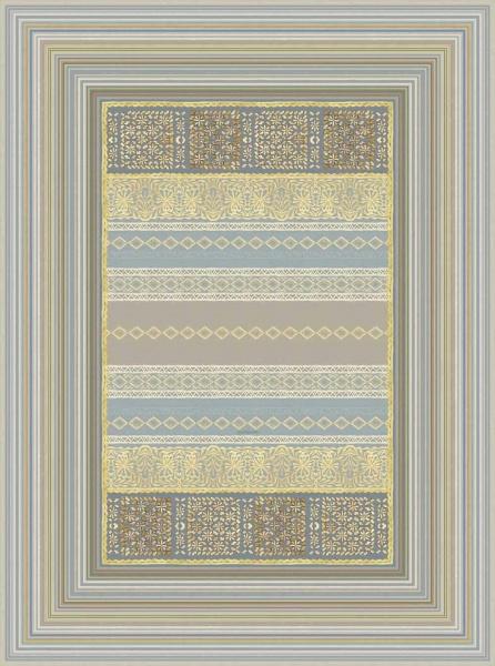 Teppich Muster Italiano in Algeri G1 Grau,.verschiedene Größen