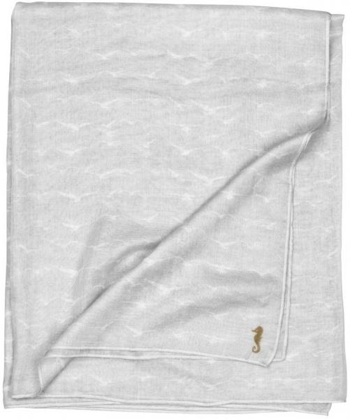 Tuch aus Baumwolle mit Druck, Größe 180 x 110 cm, verschiedene Muster