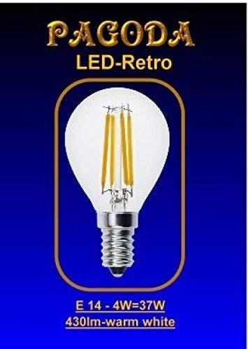 LED Birne E14, 4 Watt Retro