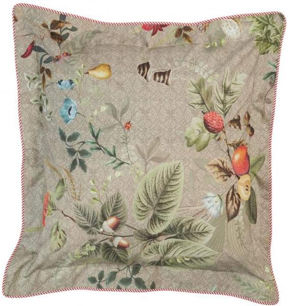 Kissen komplett gefüllt, Muster Fall in Leaf, Größe 45x45 cm, verschiedene Farben