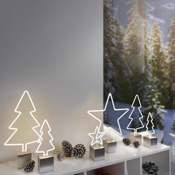 LED Leuchtmittel Tanne, FIRI LM E27 , verschiedene Größen, dimmbar, outdoorgeeignet