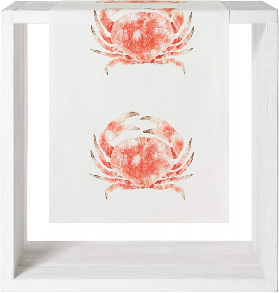 Tischläufer Crab, Größe 50x150 cm, 100% Baumwolle
