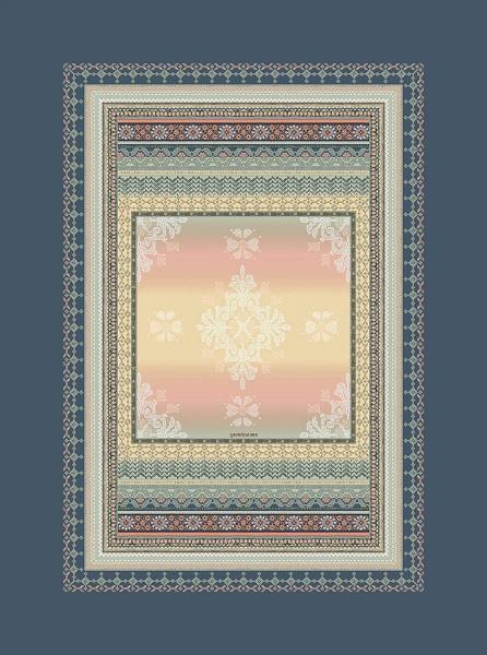 Teppich verschiedene Muster und Größen