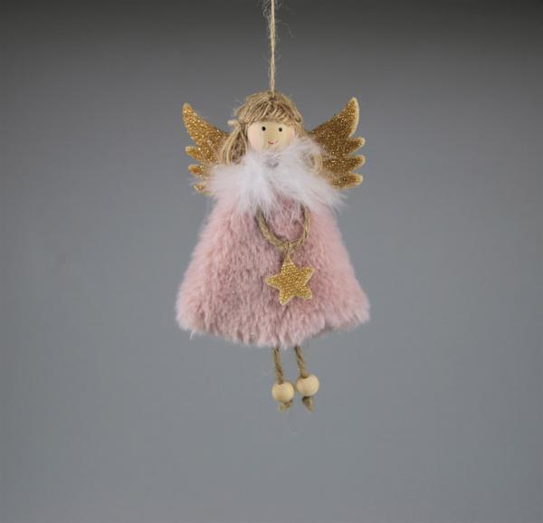 Engel, Anhänger aus Stoff, Größe: ca 15 x 20 cm