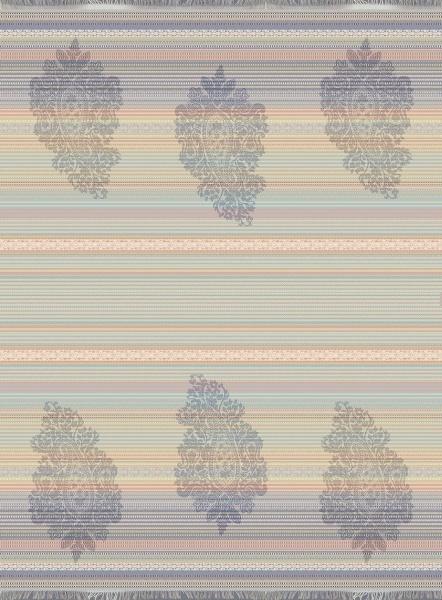 Jaquard Plaid, Muster Monenigo R1 rot, Größe 140 x 190 cm