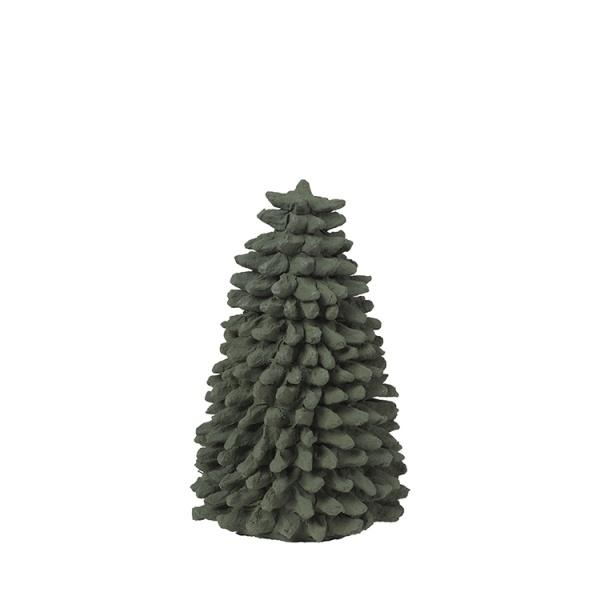 Tree Pulp Cotton, Bäume aus Baumwolle, mittel D11xH21 cm, verschiedene Farben