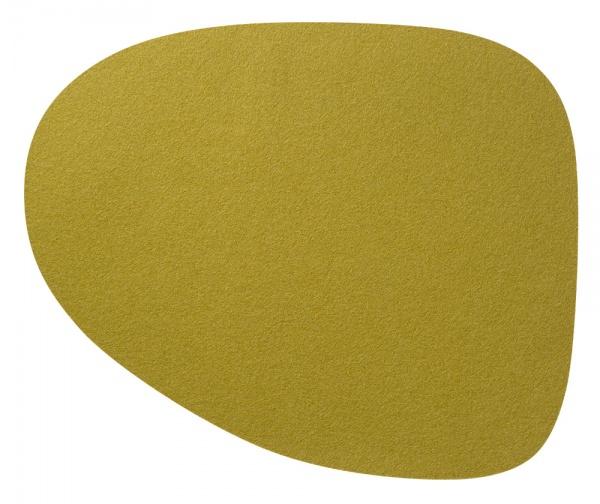 Tischset, Wave L organic, Wollfilz 35 x 46 cm