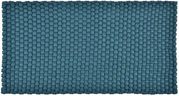 In / Outdoor Matte UNI einfarbig, Farbe petrol, Größe 52 x 72 cm